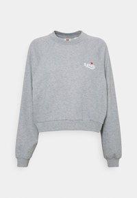 VINTAGE RAGLAN CREW - Sweatshirt - heather grey
