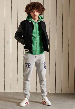 TRACK & FIELD  - Zip-up sweatshirt - oregon green marl