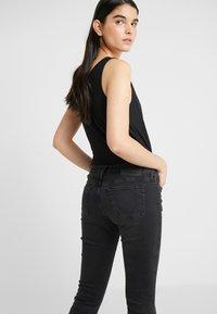 True Religion - NEW HALLE - Jeans Skinny Fit - black - 3