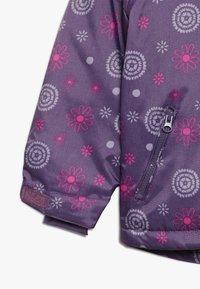 Minymo - SNOW JACKET OXFORD GIRL SHAPE - Zimní bunda - loganberry - 3