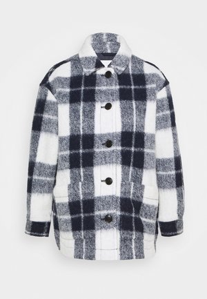 AUSTIN COAT IN FUZZY PLAID - Manteau classique - maryl/ink