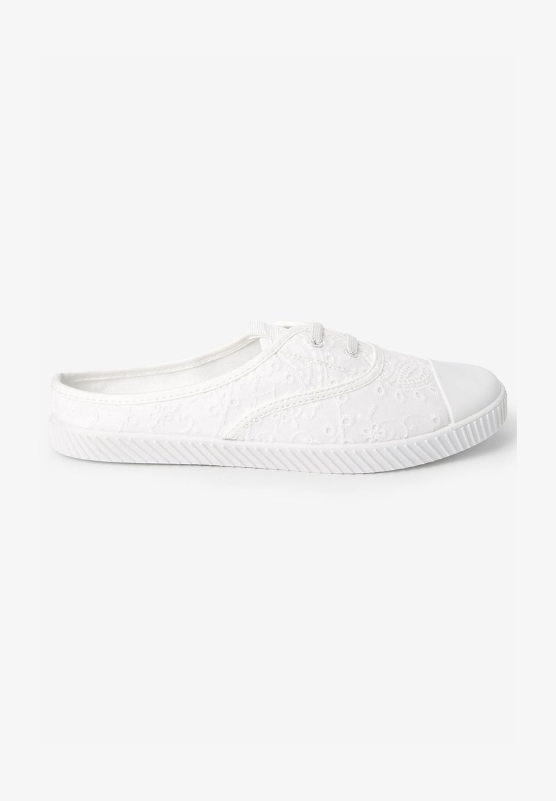 Next - Casual lace-ups - white