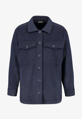 Button-down blouse - dark lake blue