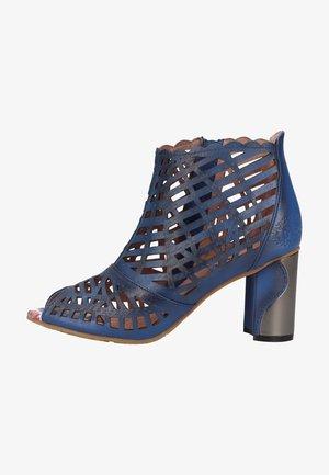 Sandalen met hoge hak - bleu