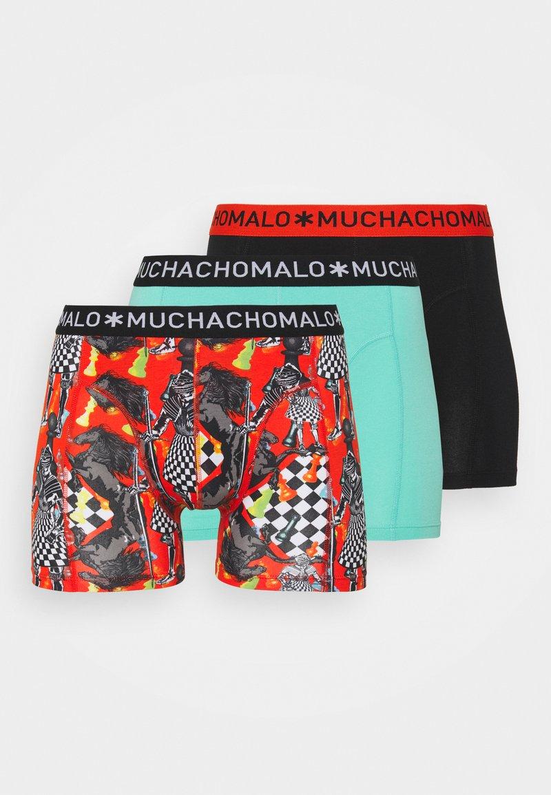 MUCHACHOMALO - VARI 3 PACK - Boxerky - red/black/orange