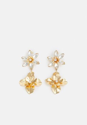 LILING - Earrings - clear/gold-coloured