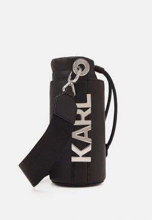 LETTERS BOTTLE HOLDER - Sac bandoulière - black