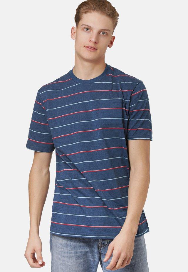 T-shirt print - poseidon hthr
