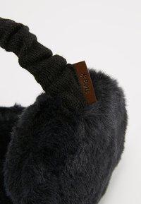Barts - PLUSH EARMUFFS - Ear warmers - black - 4