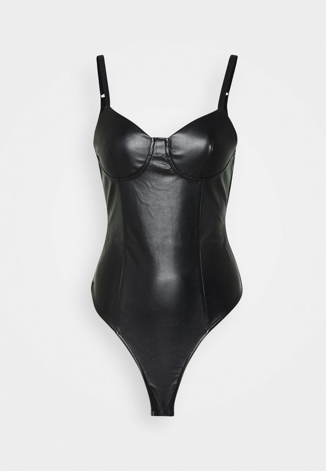 SKAI BODY - Toppi - black