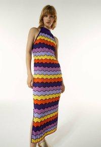 Uterqüe - Day dress - purple - 5