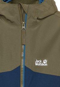 Jack Wolfskin - ICELAND - Outdoorová bunda - dark indigo - 4