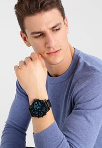 Diesel - THE DADDIES SERIES - Chronograph watch - schwarz ip - 0
