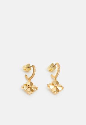 LEGACY LOGO FLOWER HUGGIES - Earrings - clear/gold-coloured