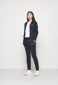 Armani Exchange - FELPA - Zip-up hoodie - navy - 1