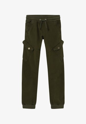 BOYS CARGO STREETWEAR - Trainingsbroek - army green reactive