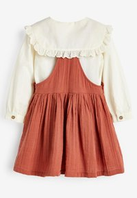 Next - BLOUSE AND PINAFORE SET  - Day dress - brown - 4