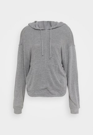 BACK INTO IT HOODIE - Jersey con capucha - grey combo