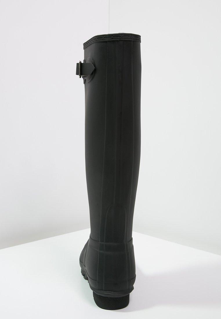 Hunter ORIGINAL ORIGINAL TALL Gummistøvler blacksvart