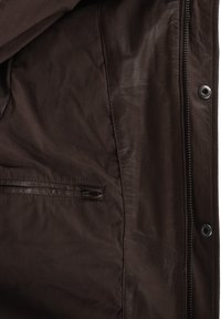 Solid - CAMASH - Leather jacket - brown - 4