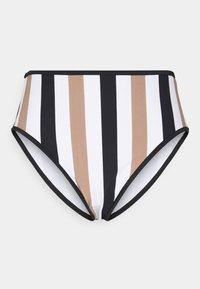 Freya - SAIL HIGH WAIST BRIEF - Bikini bottoms - white/black - 0