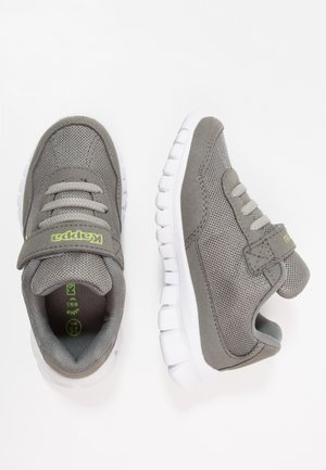 FOLLOW UNISEX - Sports shoes - grey/lime