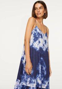 OYSHO - TIE-DYE 30751115 - Day dress - dark blue - 3