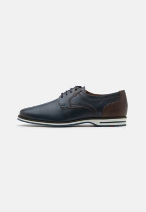 DRAGAN - Casual lace-ups - pacific/ebony