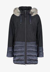 Amber & June - MET PLUCHE - Winter jacket - india ink - 3