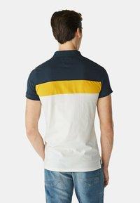 McGregor - Polo shirt - white yellow blue - 3