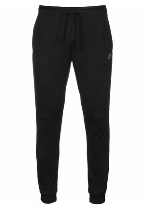 JOGGINGHOSE SPORTSWEAR - Trainingsbroek - black/refelctive silv