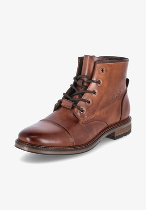 MARCELLO  - Lace-up ankle boots - braun