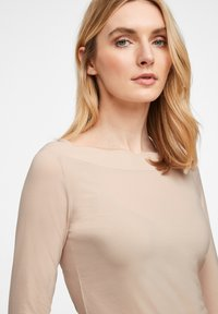 comma - Long sleeved top - champagner - 3