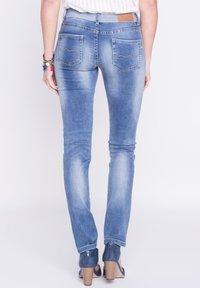 BONOBO Jeans - DAMEN - Slim fit jeans - stone blue denim - 2