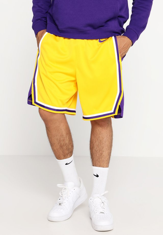 LA LAKERS NBA SWINGMAN SHORT - kurze Sporthose - amarillo/field purple/white