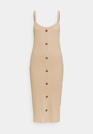VMHELSINKI DRESS - Vestido de tubo - beige
