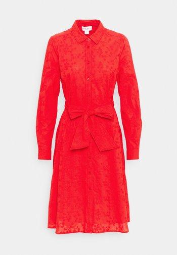 DRESS MARIE - Shirt dress - red