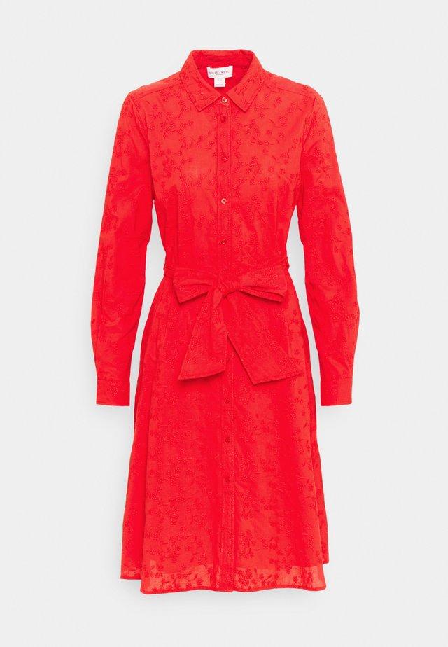 DRESS MARIE - Sukienka koszulowa - red
