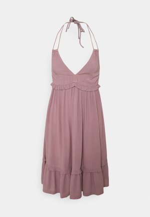 VIMESA HALTERNECK  DRESS - Day dress - elderberry