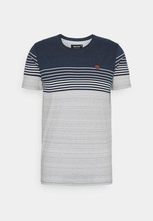 MANNING - T-shirt med print - navy