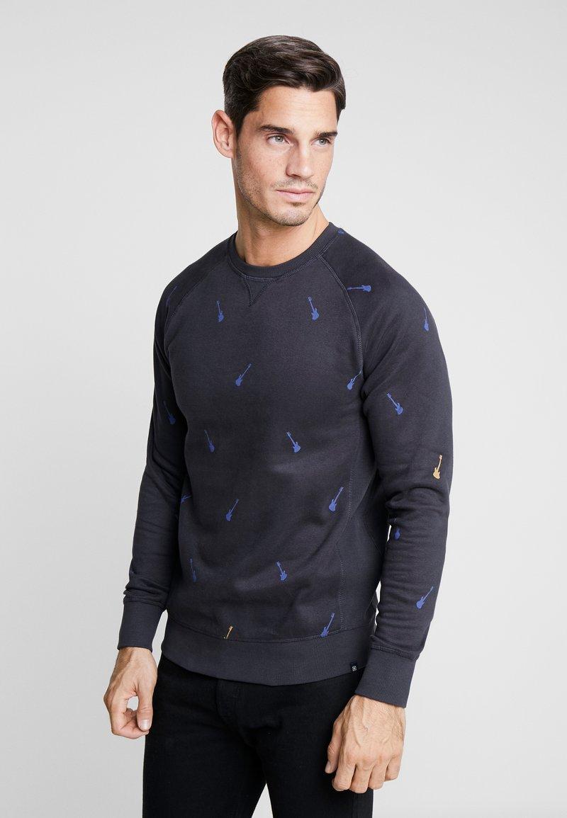 Dstrezzed - CREW GUITAR - Sweatshirt - dark navy