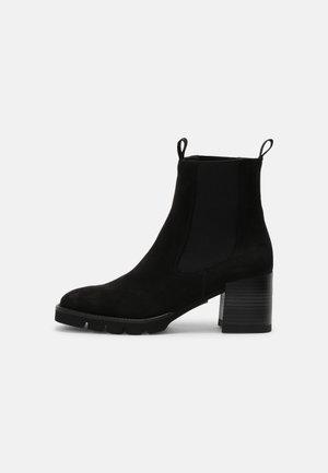 HIRUNE - Kotníkové boty - black