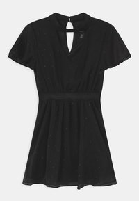 New Look 915 Generation - CHOKER DOBBY - Cocktail dress / Party dress - black - 0