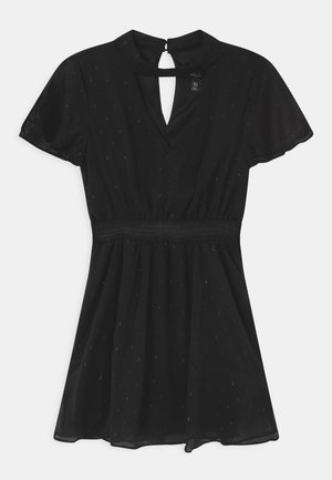 CHOKER DOBBY - Cocktail dress / Party dress - black