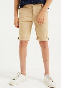 WE Fashion - Shorts - beige - 1