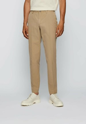 Suit trousers - open beige