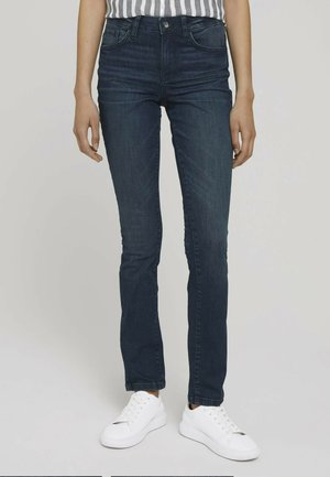 ALEXA SLIM JEANS - Slim fit jeans - dark stone wash denim