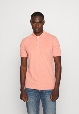 GARMENT DYED STRETCH  - Poloshirt - pink smoke