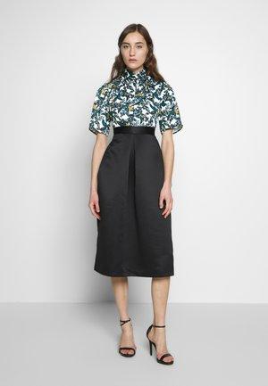 CLOSET GOLD TWIST COLLAR DRESS - Vestito elegante - black