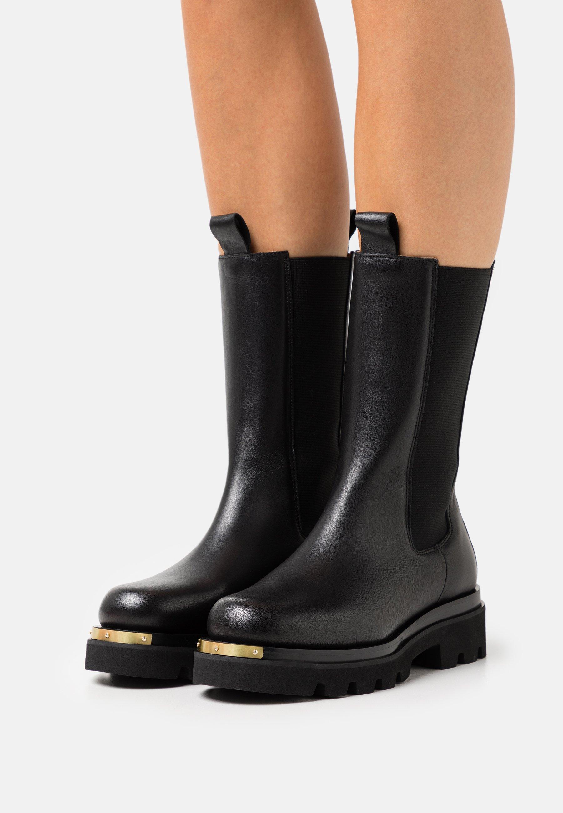 Women METAL - Platform boots